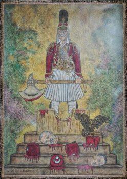 Ο Θεόδωρος Κολοκοτρώνης (1770 – 1843) ήταν αρχιστράτηγος και ηγετική μορφή της Επανάστασης του 1821, οπλαρχηγός, πληρεξούσιος, Σύμβουλος της Επικράτειας. Μεταφορικά αναφέρεται και ως Γέρος του Μοριά. Προερχόταν από φημισμένη οικογένεια. Το επώνυμο της οικογένειάς του αρχικά ήταν Τσεργίνης, όπως αναφέρεται στα απομνημονεύματά του ευρίσκοντο 60 οικογένειες στην Μεσσηνία με το ίδιο επώνυμο. Αργότερα, ο παππούς του, Γιάννης Μπότσικας, υιοθέτησε το «Κολοκοτρώνης» ως οικογενειακό όνομα, σαν μετάφραση του αρβανίτικου παρωνυμίου «Μπιθεγκούρας» (Μπίθ = Οπίσθια, Γκούρ = Πέτρα και η ερμηνεία : Αυτός που έχει «πέτρινους» γλουτούς) που του αποδόθηκε ως παρατσούκλι. Ο Κολοκοτρώνης γεννήθηκε στο Ραμοβούνι της Μεσσηνίας, καταγόταν από το Λιμποβίσι της Καρύταινας και πέρασε τα παιδικά του χρόνια στην Αλωνίσταινα της Αρκαδίας που ήταν τόπος καταγωγής της μητέρας του, Ζαμπίας Κωτσάκη. Ο πατέρας του Θεόδωρου, Κωνσταντής Κολοκοτρώνης, πήρε μέρος στην ένοπλη εξέγερση των Ορλοφικών η οποία υποκινήθηκε από την Αικατερίνη Β΄ της Ρωσίας το 1770 και σκοτώθηκε μαζί με δύο αδελφούς και τον φημισμένο Παναγιώταρο στον πύργο της Καστάνιτσας από τους Τούρκους. Από μικρός, ο Θεόδωρος Κολοκοτρώνης ακολούθησε τον πατέρα του στις διάφορες περιπέτειές του. Σε ηλικία μόλις 15 ετών έγινε αρματωλός εναντίον των κλεφτών που λυμαίνονταν την περιφέρεια του Λεονταρίου. Η δράση του Κολοκοτρώνη σιγά-σιγά απλώθηκε, μαζί με τη φήμη του, σ' όλη την Πελοπόννησο. Το 1802 είχε γίνει τόσο επικίνδυνος στους κατακτητές, ώστε ο βοεβόδας της Πάτρας πέτυχε να εκδοθεί σουλτανικό φιρμάνι που τον καταδίκαζε σε θάνατο και ανάθετε την εκτέλεση στους προεστούς, οι οποίοι αν δεν κατόρθωναν να τον σκοτώσουν θα εκτελούνταν οι ίδιοι. Έχοντας αποκτήσει πείρα και στη θάλασσα ως κουρσάρος, το 1805 ο Θεόδωρος Κολοκοτρώνης πήρε μέρος στις ναυτικές επιχειρήσεις του ρωσικού στόλου κατά τον Ρωσοτουρκικό πόλεμο. Τον Ιανουάριο του 1806 και ενώ βρισκόταν στην Πελοπόννησο βγήκε διάταγμα δίωξής του. Αποτέλεσμα αυτού ήταν να ακολουθήσει πολύμηνη π